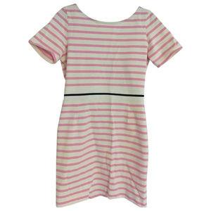 EUC Markus Lupfer Pink Stripe Cotton Mini Dress